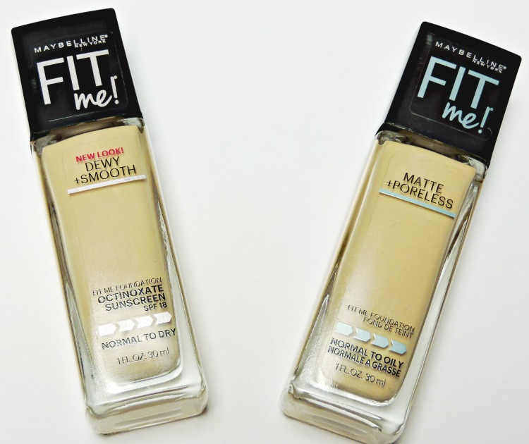 Maybelline Fit Me Foundations