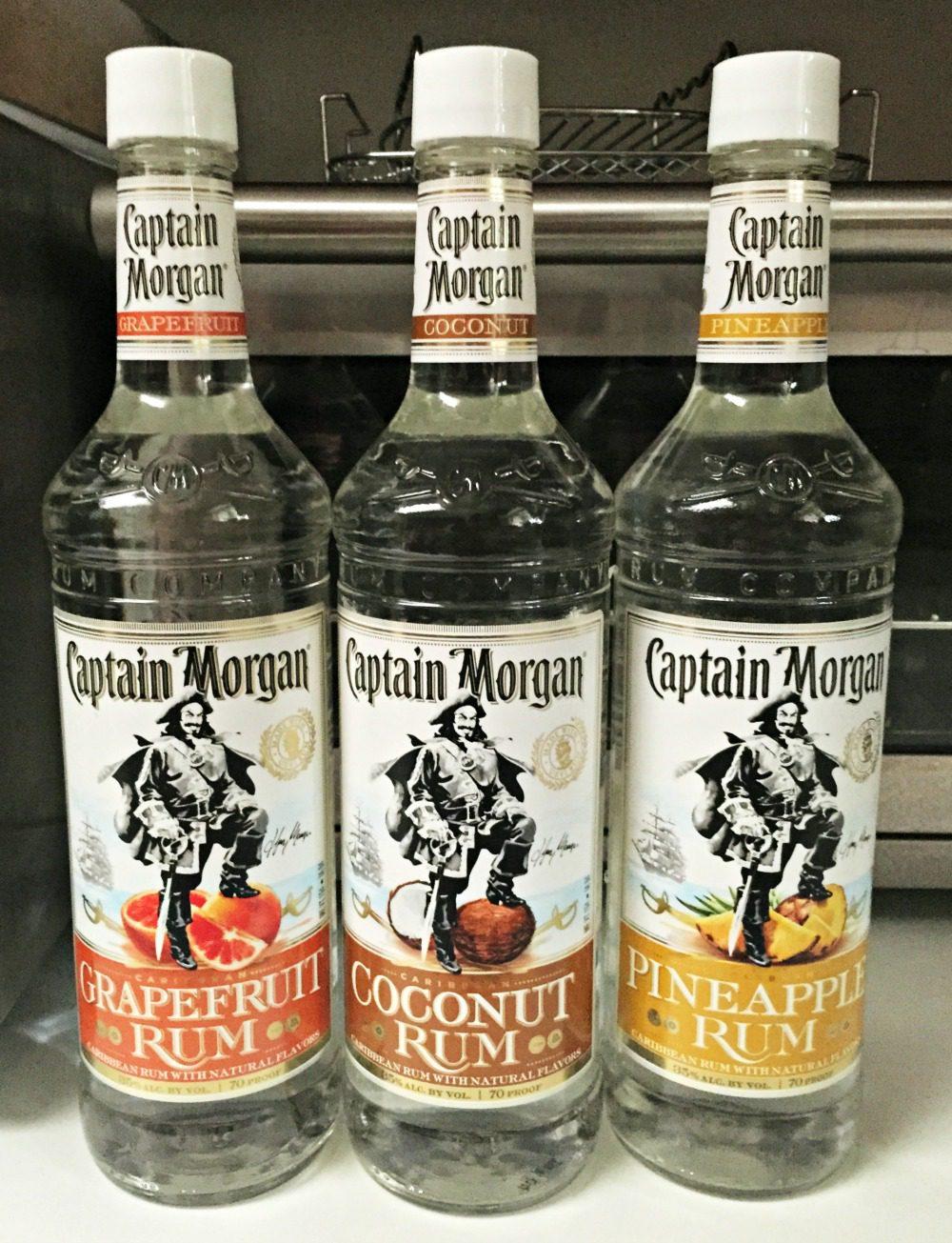 Captain Morgan's Flavored Rum