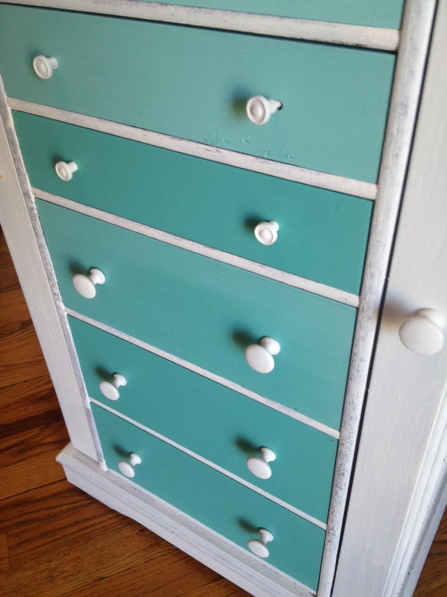 DIY Ombre Dresser 6
