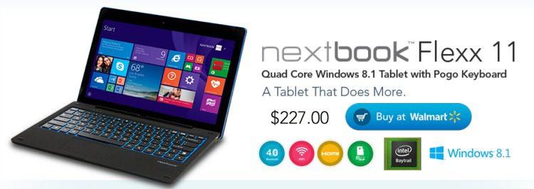 Nextbook Flexx 11 2-in-1 at Walmart Tablet Review