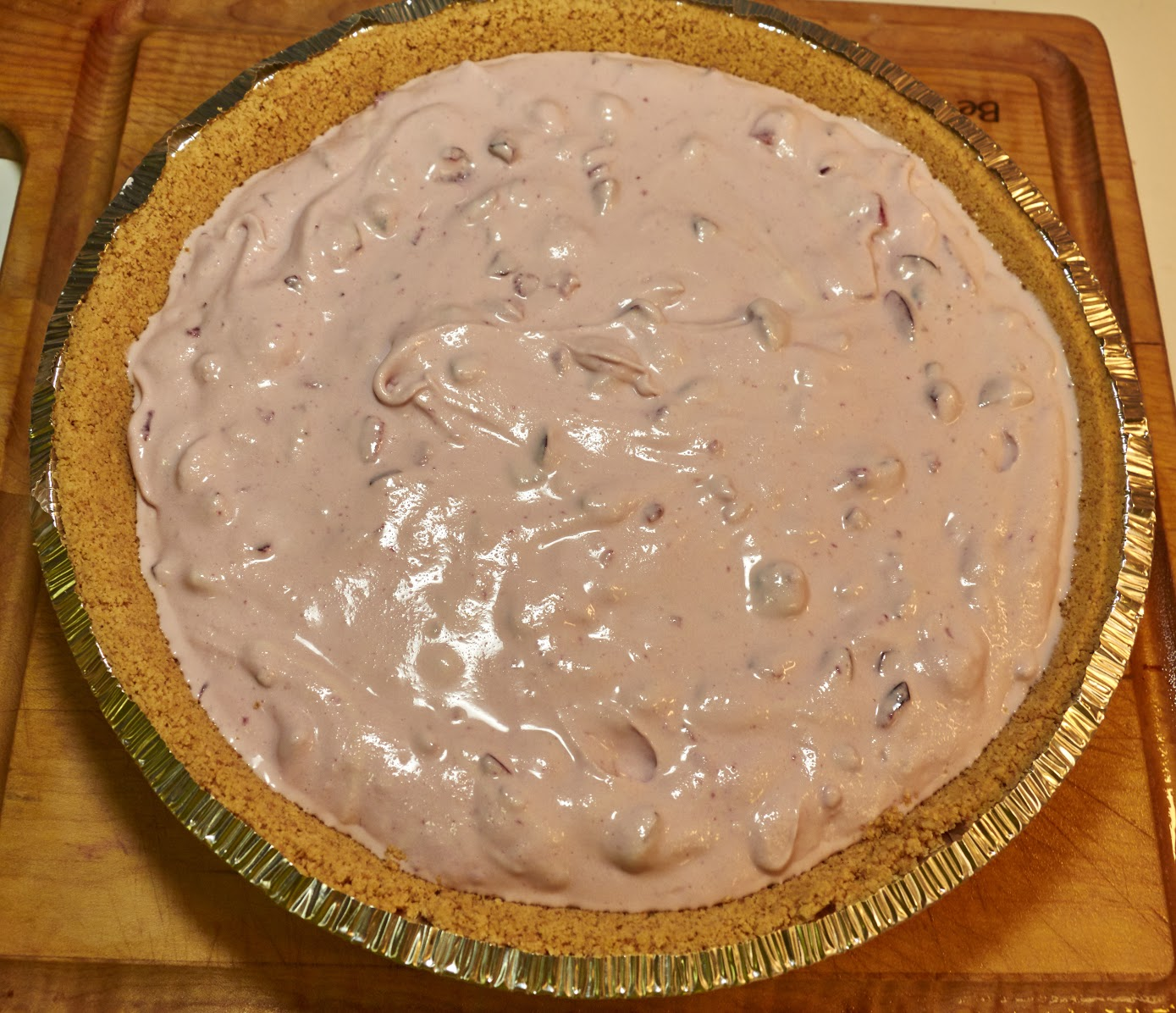 Fresh Cherry & Frozen Custard Pie Recipe with EDY'S® Old Fashioned Vanilla Frozen Custard 11