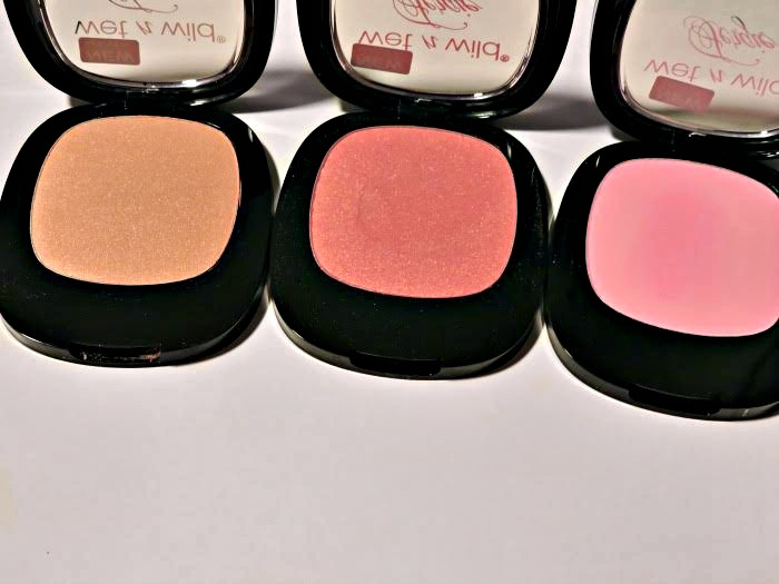 Wet n Wild Fergie Blushes Review