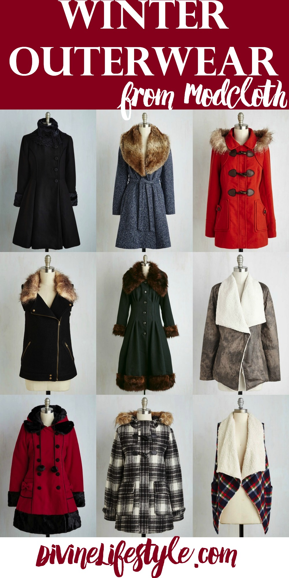 Chic and Stylish Winter Outerwear from ModCloth