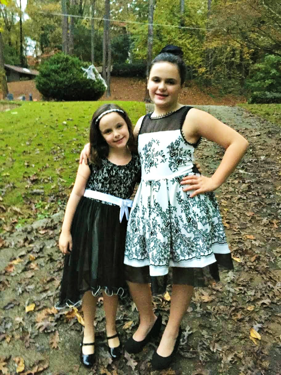 Get Your Holiday Sparkle from Girls Dress Shop #HolidaySparkle