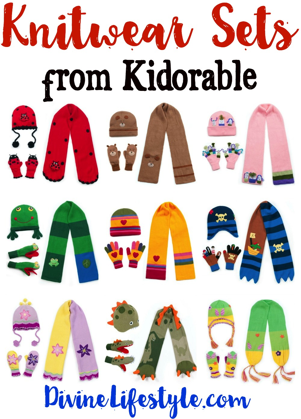 Knitwear Sets from Kidorable