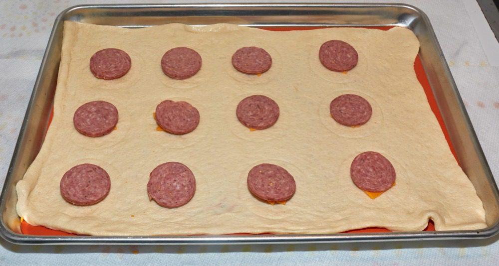 Summer Sausage Party Puffs Recipe
