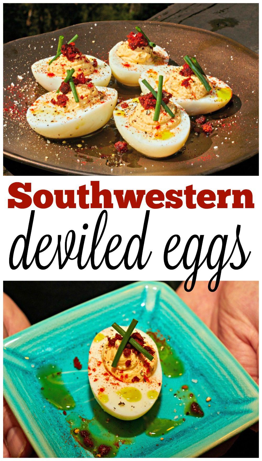 Southwestern Deviled Eggs