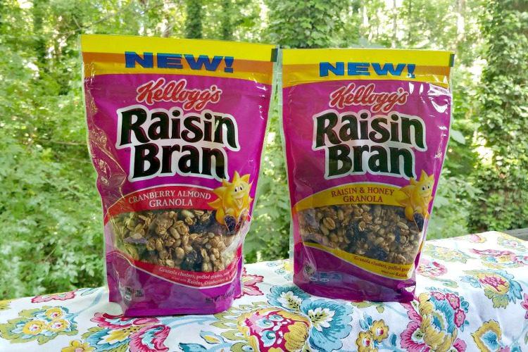 Kellogg's Raisin Bran Granola