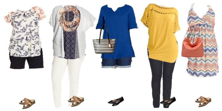 Summer Style Plus Size Fashions Mix and Match from Amazon
