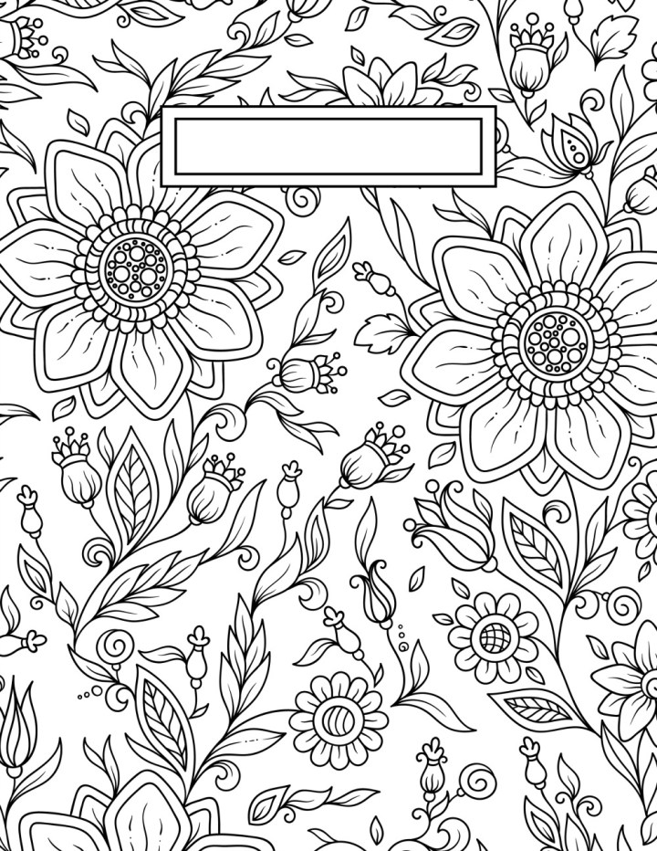 Adult Coloring Pages Front And Back