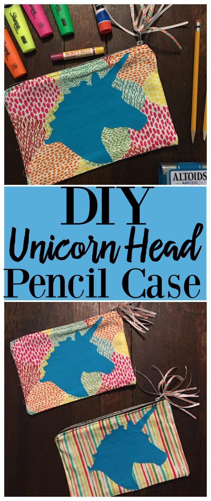 DIY Unicorn Pencil Case Waverly Inspirations