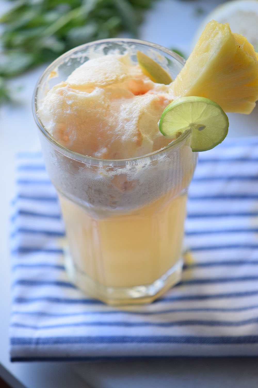 Tropical Ice Cream Float