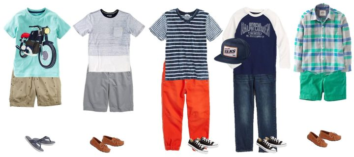 Kids' Summer Mix & Match Styles from Nordstrom Boys 1
