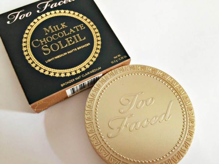 Too Faced Milk Chocolate Soleil Bronzer Review