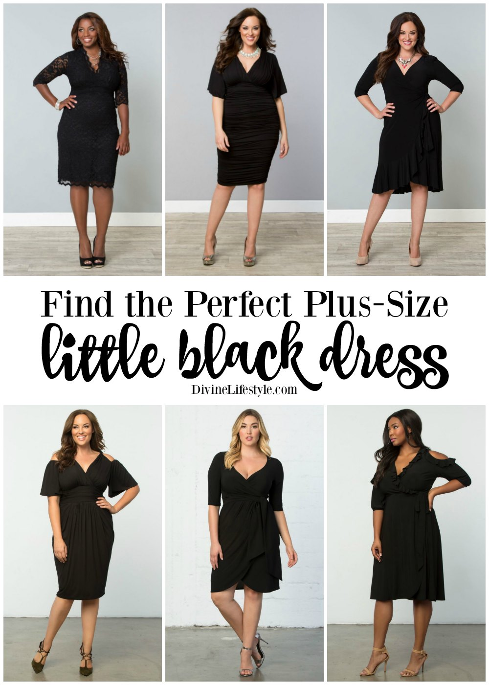 Find the Perfect Plus Size Little Black Dress