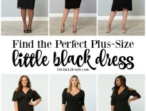 Find the perfect plus-size LBD - little black dress