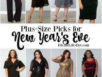 Perfect Plus-Size Outfits for New Year's Eve