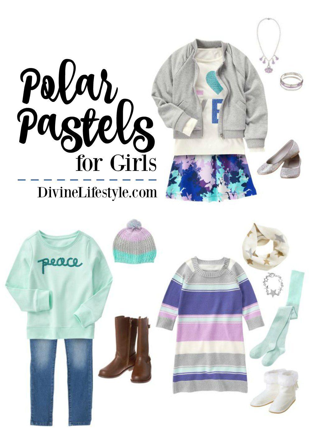 Polar Pastels for Girls