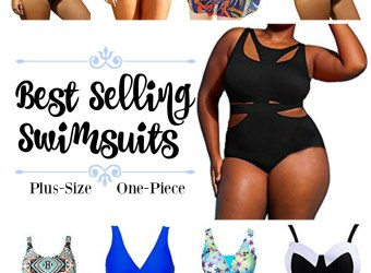 Best Selling Plus-Size One-Piece Swimsuits