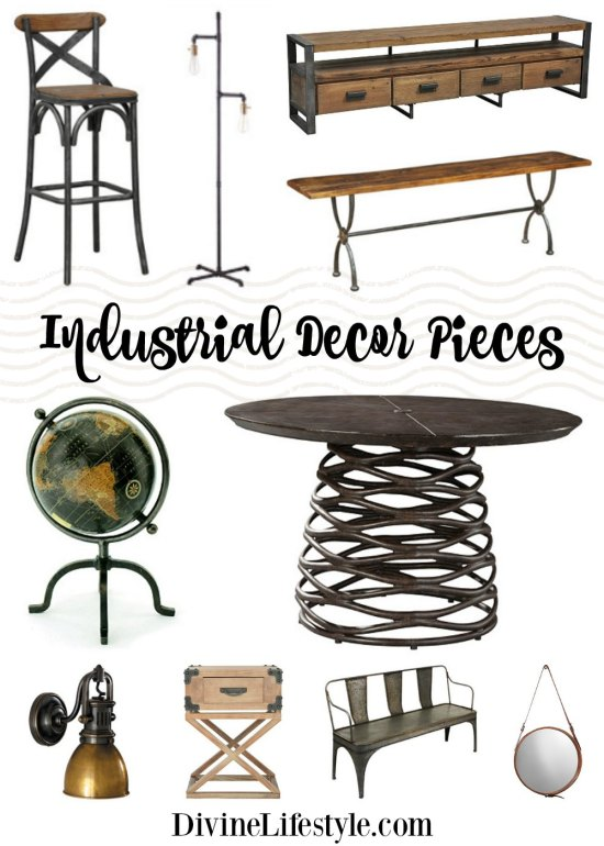 Industrial Pieces for Home Design