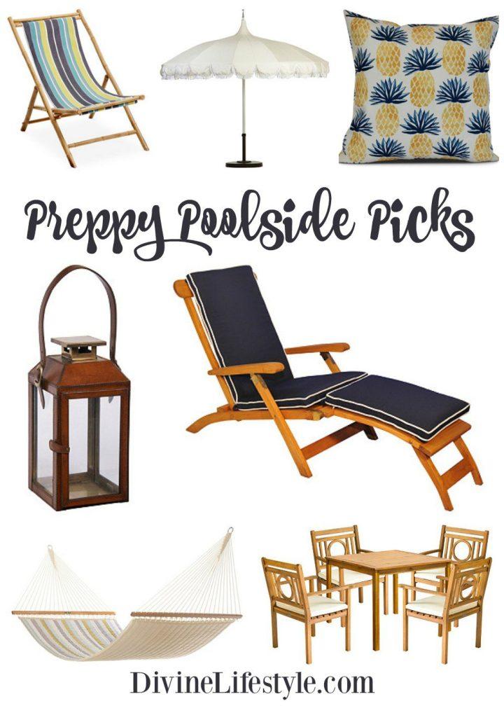 Preppy Poolside Picks