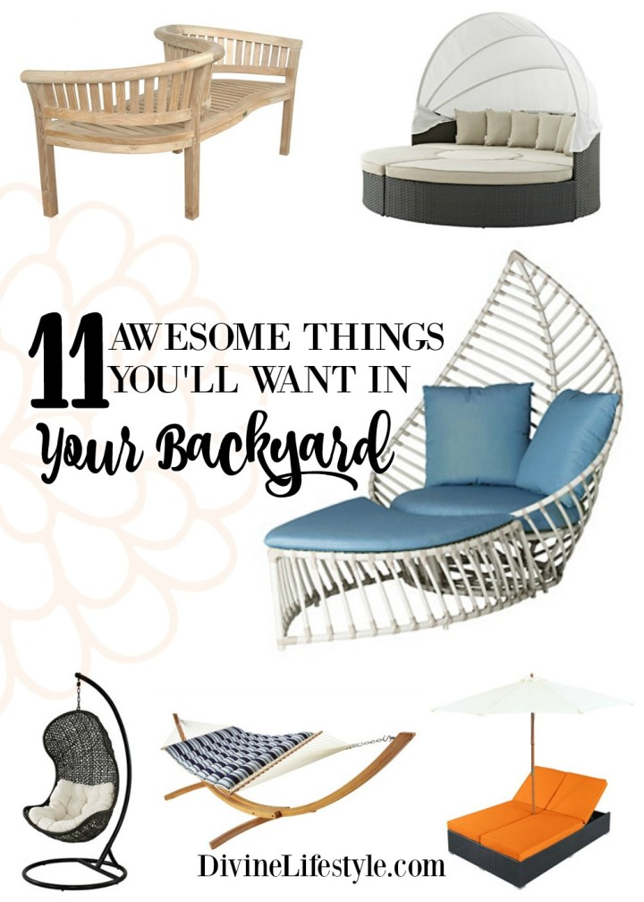 11 Awesome Outdoor Seating Options