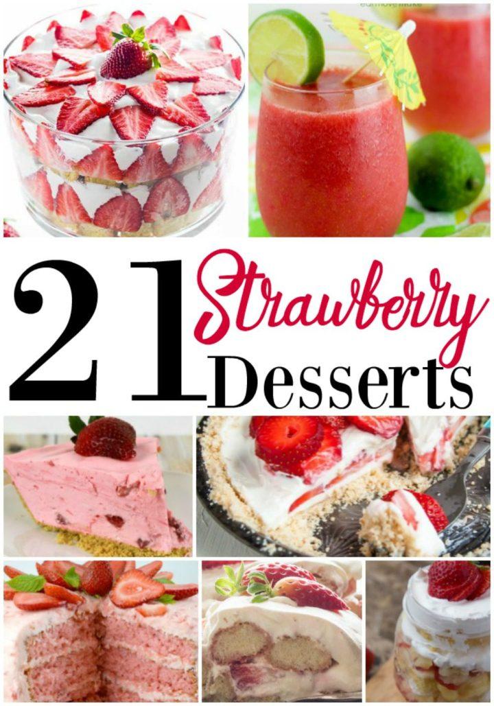 21 Strawberry Dessert Recipes
