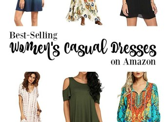 10 Best-Selling Women's Casual Dresses on Amazon