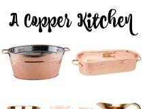 Copper Kitchen Pieces