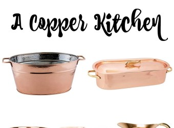 Copper Kitchen Pieces