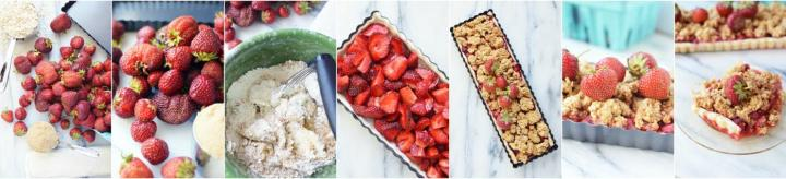 Strawberry crumble recipe