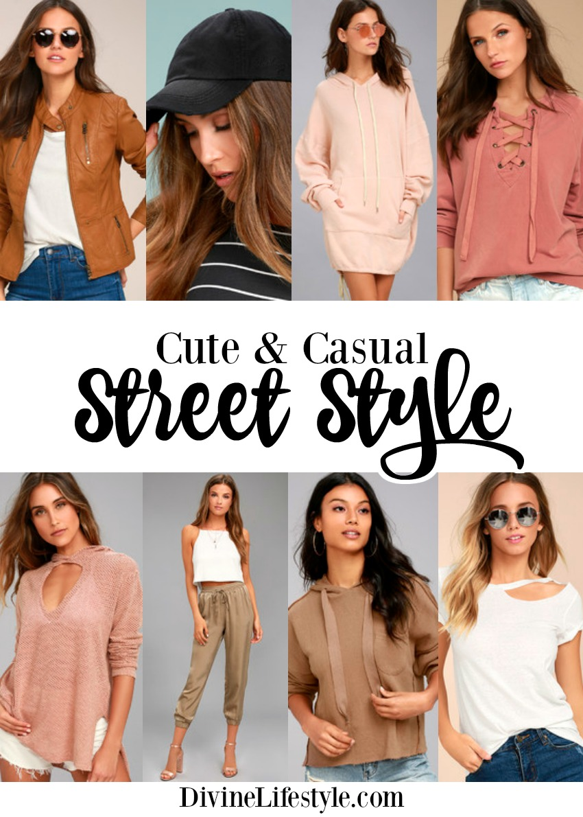Cute Casual Street Style for Women