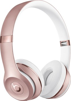 Gift Guide for the Fitness Lover Rose Gold Beats 3 Solo Dr. Dre Best Buy