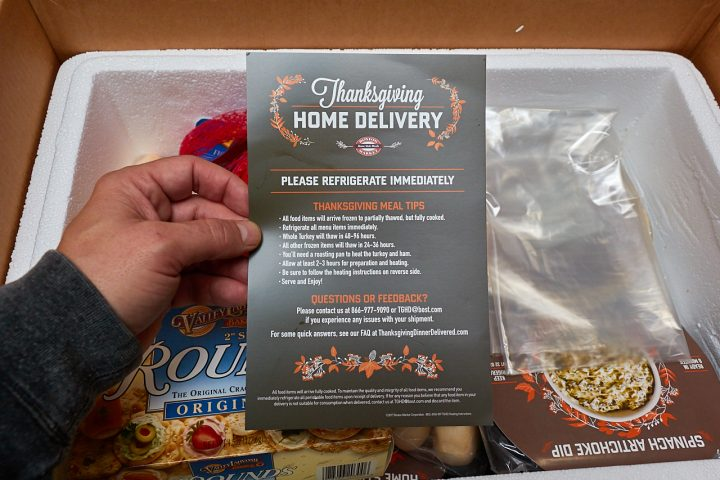Thanksgiving Delivered from Boston Market 2