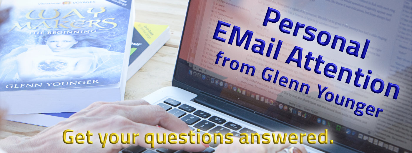 Personal email attention from Glenn Younger, transformational coach