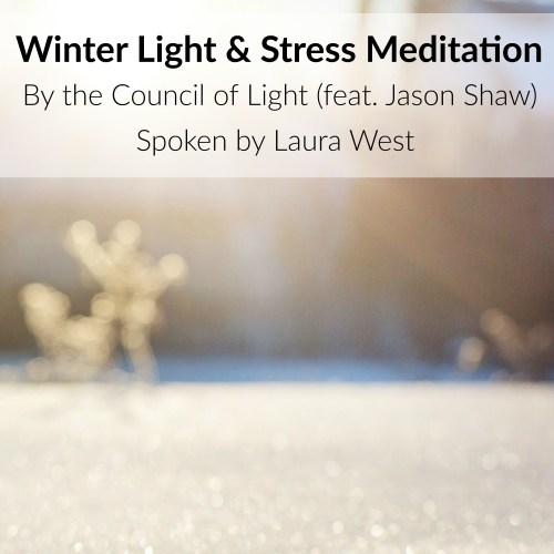 Divine Lotus Healing Winter Light and Stress Meditation