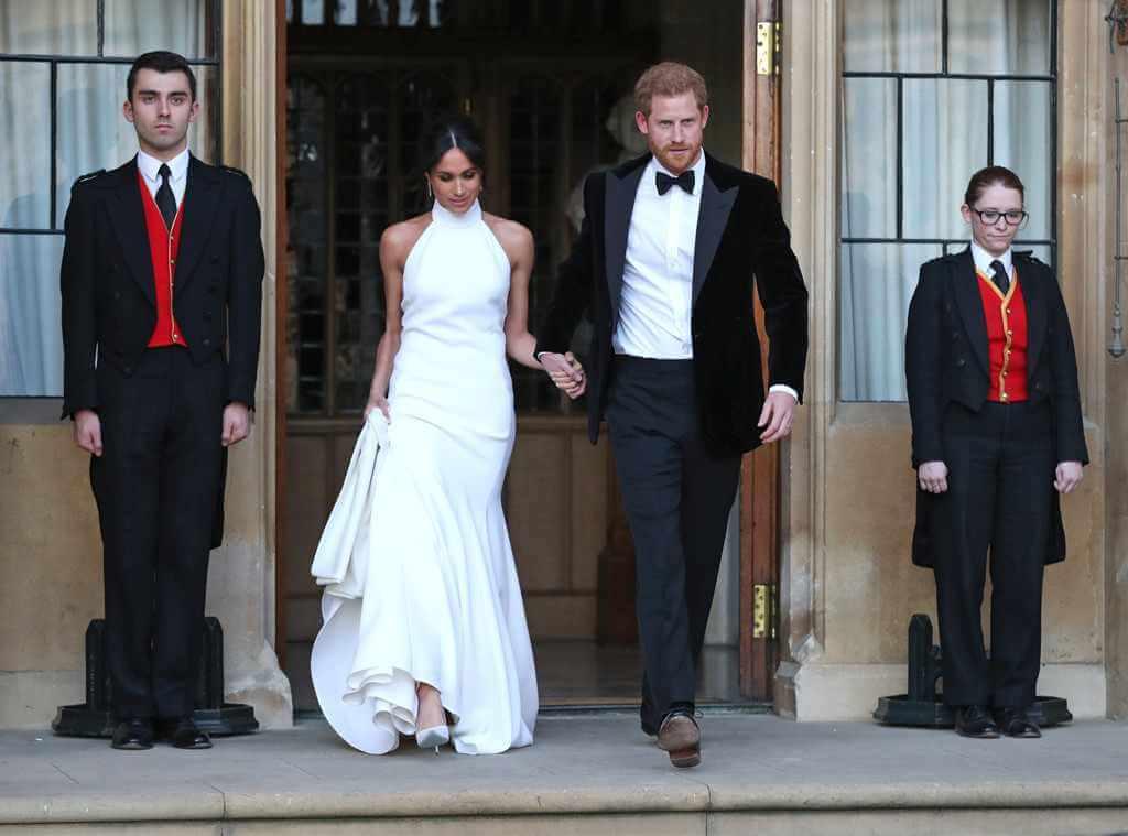 Prince Harry Meghan Markle Royal Wedding Reception