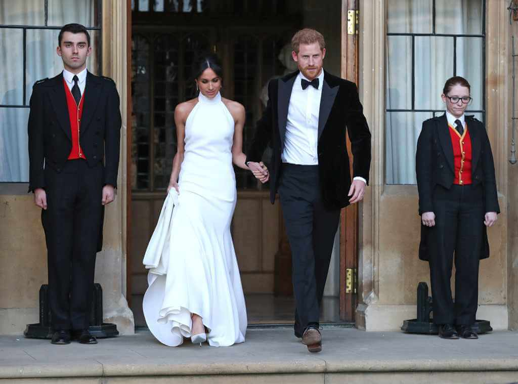 Prince Harry Meghan Markle Royal Wedding Reception