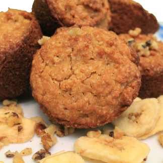gluten free banana nut muffin mix