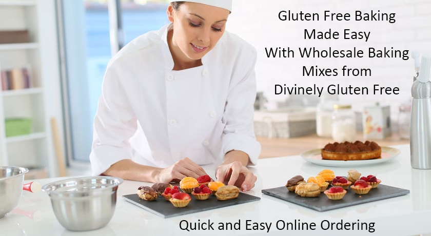 divinely gluten free wholesale gluten free baking mixes