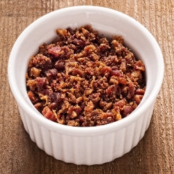 gluten free crumbled bacon bits