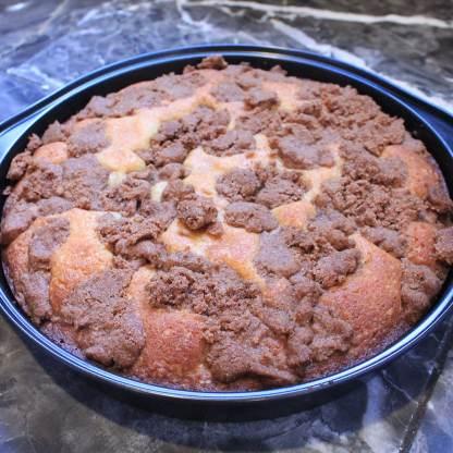 blueberry flavored gluten free coffee cake