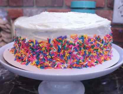 Rainbow Sprinkle - Gluten Free Cake