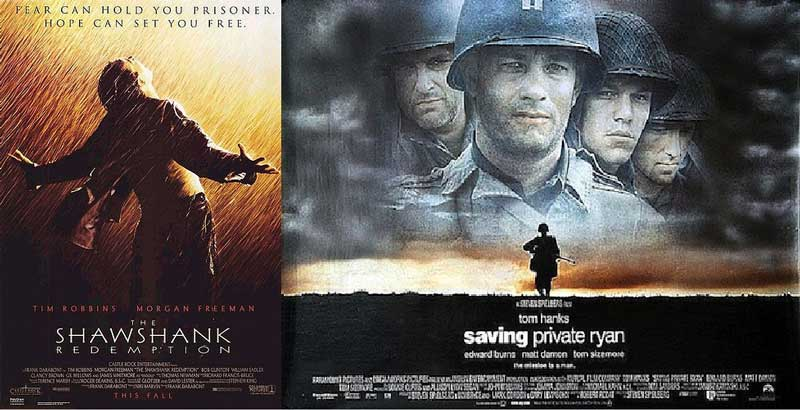 Reflecting on One's Own Life: The True Point of The Shawshank Redemption and Saving Private Ryan