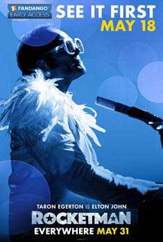 Paramount and Fandango partner for early 'Rocketman' screenings on May 18