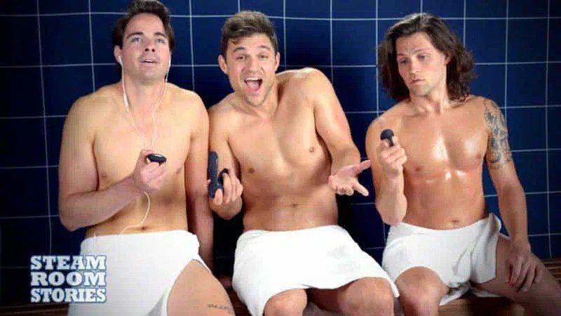 New Steam Room Stories Episode – Not Only For Gay Guys