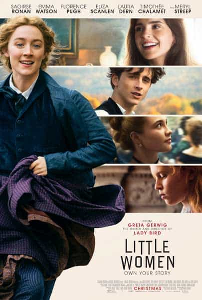 Little Women | New One-Sheet and Character Posters Now Available | In Theaters This Christmas