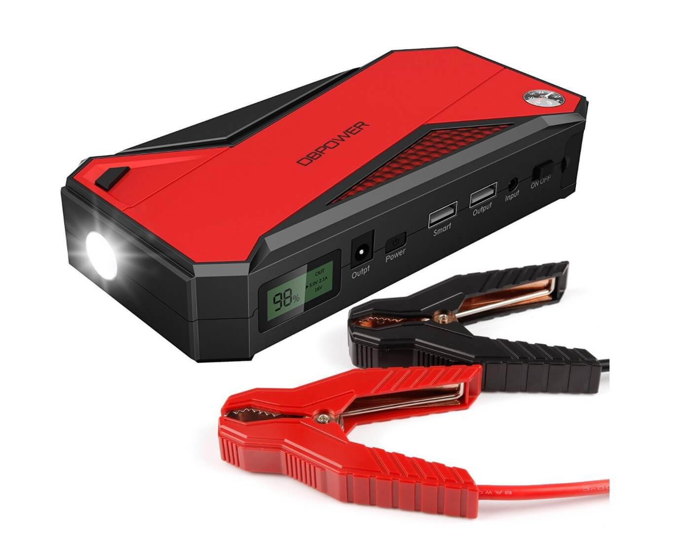 Portable Car Jump Starter Divine On The Road