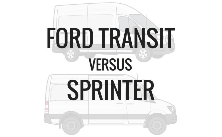 Ford Transit Vs  Sprinter | Divine On The road