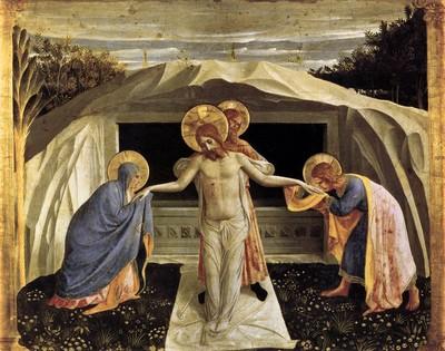 Mise au tombeau - Fran Angelico